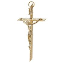 Cristo, Cruz, Crucifijo. Chapa De Oro $28.00