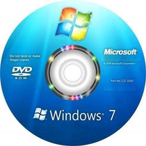 Cd De Instalação Windowus 7 Completo - 32 E 64 Bits