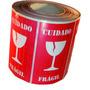 Etiqueta Selo Fragil Taça Transporte Mercadorias - Milheiro
