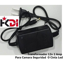 Transformador Adaptador Regulador 12v 2amp Camara Seguridad