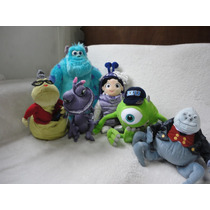 Monstros Sulley Mike -conj. 6 Bonecos Originais Disney Store