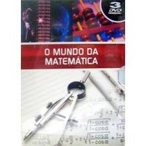 Coleção De Dvds O Mundo Da Matematica
