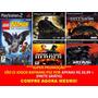 Batman Rise Of Sin Tzu, Begins, Vengeance, Lego (5 Jogos Ps2