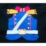 Disfraz Granadero Pechera Pañolenci Niño 1-4 Años Brovillnet