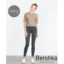 Jeans Skinny Bershka Woman Solo Talla 24 / 0 / 3 Original