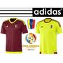Adidas Vinotinto Copa America Usa 2016 Camiseta Oficial Fvf