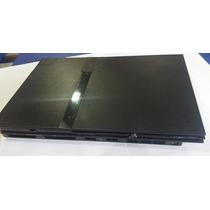 Carcaça P/ Ps2 Slim Preta Nova E Completa Modelo 70xxx