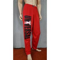 Pantalon Baggie Entrenamiento Universal Rojo Envio Gratis