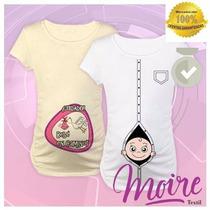 Remeras Embarazada Futura Mama Personalizadas Baby Shower
