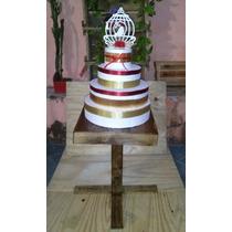 Mesa Rustica 15 Anos,bolo De Casamento,mesa Enfeite,promoção