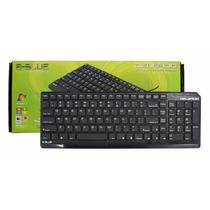Teclado Usb Slim Pc, Computadora , Laptop Español Oferta