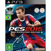 Futebol Pes 2015 - Pro Evolution Soccer - Ps3 - Código Psn