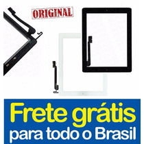 Tela Touch Ipad 4 Retina + Botão Home + 3m + 100% Original!