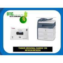 Toner Original Canon 106 Mf6530/mf6550 Vbf