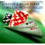 4 Libros De Poker Texas Holdem - Juan Carreño - Envio Gratis
