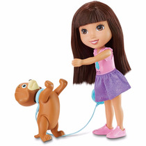 Muñeca Dora La Exploradora Con Su Perrito Fisher Price