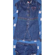 Vestido Usado De Niña Tommy Hilfiger Original Como Nuevo T:3