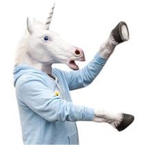 Disfraz Unicornio Latex Premium Caballo Harlem Shake Horse