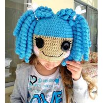 Gorrito De Crochet Estilo Lalaloopsy