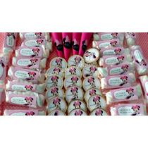 Candy Bar - Minnie Rosa P/30 Chicos/90 Golosinas!!