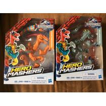 2 Jurassic World Hero Mashers Diferentes Originales D Hasbro