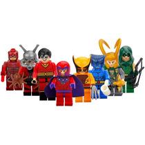 Magneto Bestia Loki Wolverine Marvel Dc Compatible Con Lego