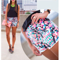 Bellisimo Short Estampado Disponible En Talla Ss, S Y M