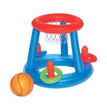 Aro De Basket Inflable Bestway, Incluye La Pelota!