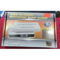 Vga To Hdmi Convertidor Con Audio