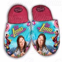 Soy Luna Pantuflas Zapatos Babuchas Niñas Regalo Navidad