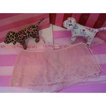 Victorias Secret The Pink Tanga Con Faldita Sz S