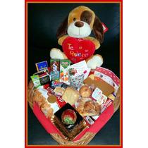 Desayunos A Domicilio Romanticas Cumpleaños Torta Y Peluche