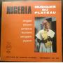 Vinilo Nigeria Musiques Du Plateau