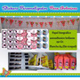 Stickers Golosinas Personalizadas - Candy Bar - Por Plancha