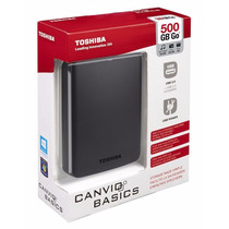 Disco Duro Externo Toshiba Canvio 500 Gb