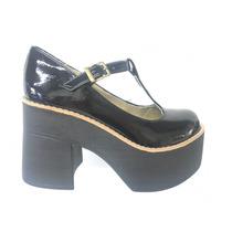 Guillermina Mujer Plataforma Primavera Verano 2017 Zapatos