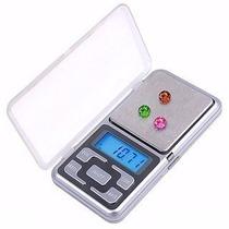 Mini Balança Pocket Digital De Alta Precisão De 0,1g A 500gr