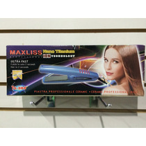 Plancha Profesional Maxliss Ys-388 Nano Titanium Made In Usa