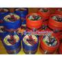 Souvenirs Golosineros Hombre Araña Potes Personalizados X10