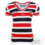 Camisa Penalty Santa Cruz I 2015 Feminina - Futfanatics