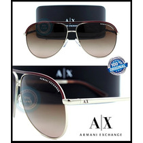 Lentes Armani Exchange Ax2002 Light Gold / Brown Gradient