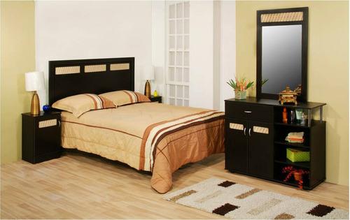Recamara brasilia 3 en mercado libre for Recamaras individuales de madera