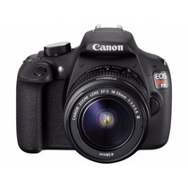 Câmera Digital Canon Rebel T5 Lente 18-55m-tripé-32gb-bolsa