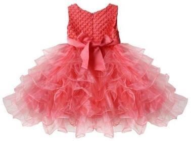 Vestidos de fiesta para ninas color rosa