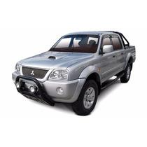 Calha De Chuva Mitsubishi L200 Gls Até 2007 Modelo Quadrada