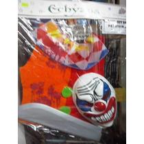 Disfraz Halloween Set Payaso Maldito Talle Unico Belgrano R