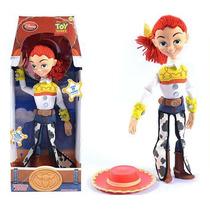 Boneca Toy Story Jessie Em Pvc E Pelúcia 40 Cm Disney Pixar