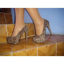 Zapatillas De Leopardo Lob Footwear Talla 25.5