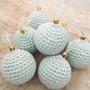 Bolas De Navidad Tejida Crochet X10u
