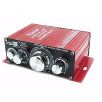 Mini Modulo Amplificador 2 Canais 12v Home Theater Ipods